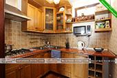 Общая кухня в Шале Джаз Курортное Крым