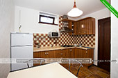 Кухня - Двухкомнатный номер Шале Джаз