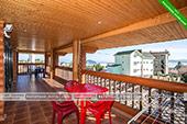 Балкон в Шале Джаз Курортное Крым