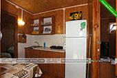 Общая кухня - Деревянный дом на ул. Науки 3Б в Курортном