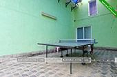 Настольный теннис - гостевой комплекс Зеленые домики в Курортном