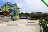 Вид на море - гостевой комплекс Зеленые домики в Курортном