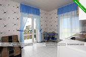 Двухместный номер - гостевой комплекс Зеленые домики в Курортном