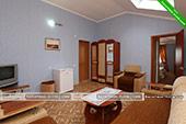 Двухкомнатный номер - Отель Крым в пос. Курортное