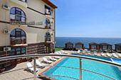 Вид с балкона - Номер Стандарт - Гостиница Отуз, Курортное Крым